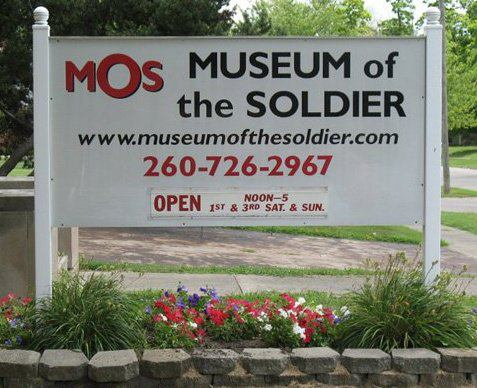 The sign that sits in front of the Museum